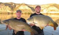 karpfenfischen im angelcamp spanien mit taffi tackle tours
