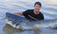 angeln nach mass im angelcamp spanien bei taffi tackle tours