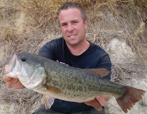 black bass guiding am ebro von taffi tackle tours