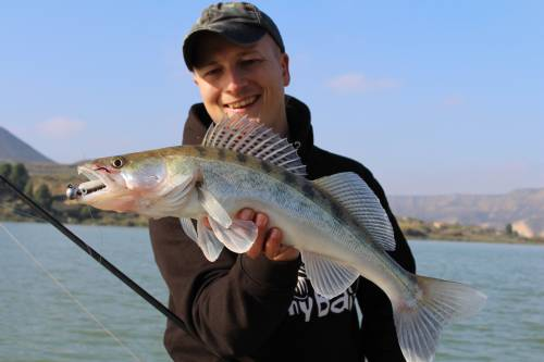 sebastian hähnel in spanien bei taffi tackle tours