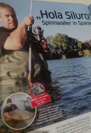 blinker dvd im heft über spinnfischen in spanien mit taffi tackle tours