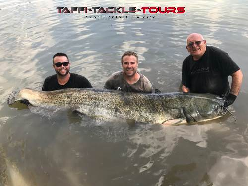 rekord waller für karl in spanien bei taffi tackle tours