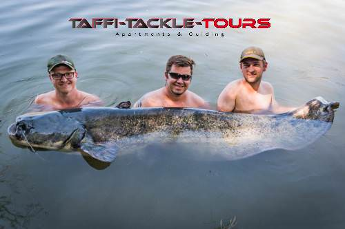 drei österreicher mit personal best wels beiTaffi Tackle Tours