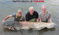 Welsangeln in Spanien bei Taffi Tackle Tours