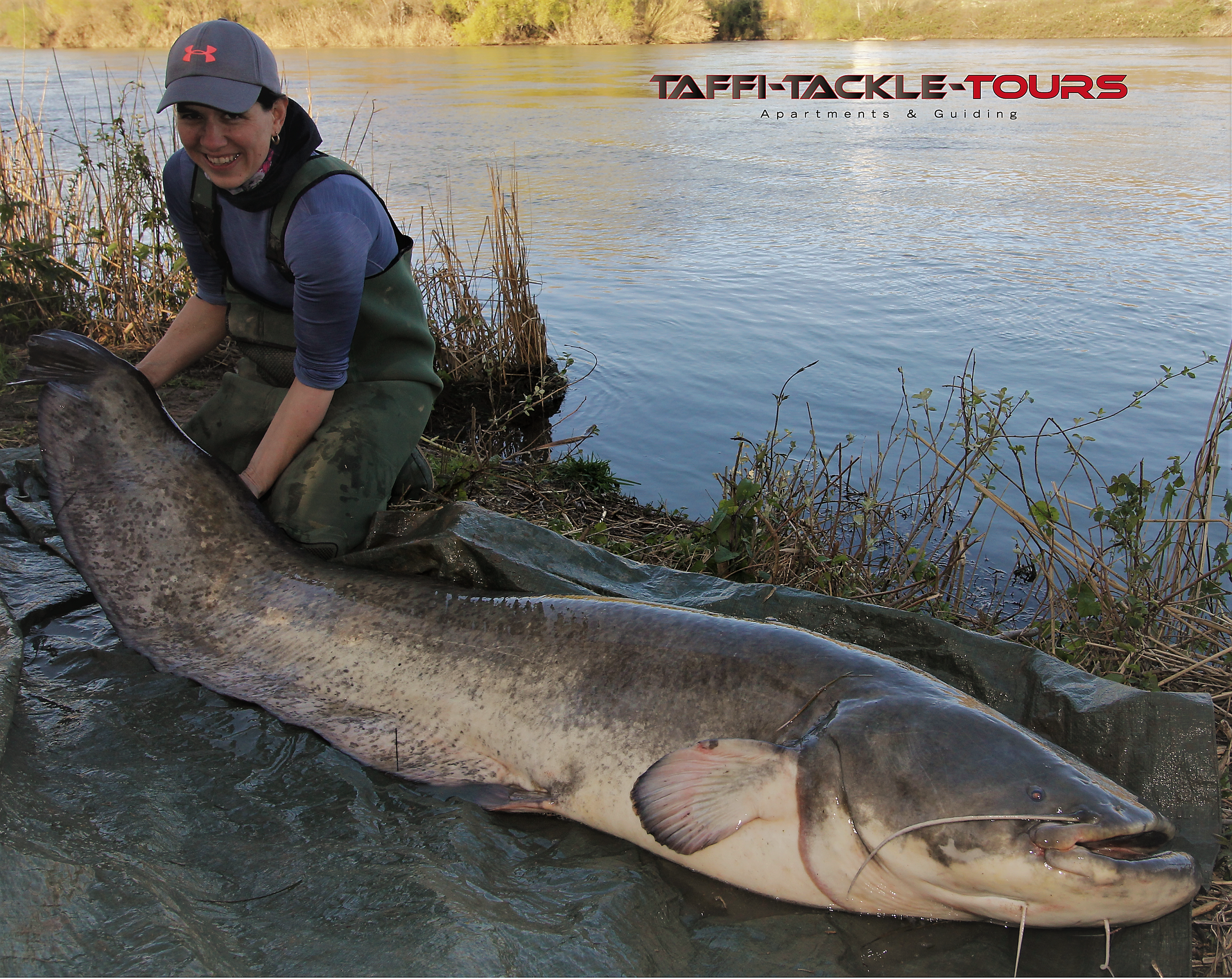 angeln in spanien im camp von taffi tackle tours