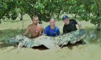 spinnfisch angeln auf waller in mequinenza bei taffi tackle tours