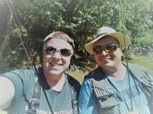 fliegenfischen in spanien mit taffi tackle tours