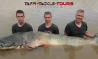 wallerangeln in mequinenza im wallercamp bei taffi tackle tours