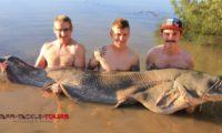 angeln auf waller in mequinenza beim reiseanbieter taffi tackle tours